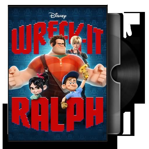 Wreck-It Ralph Folder Icon(ver1) by prestigee