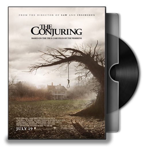 The Conjuring ver1 Folder Icon by prestigee