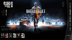Battlefield 3 - Rainmeter