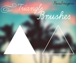 Triangle Brushes {PureImagine}