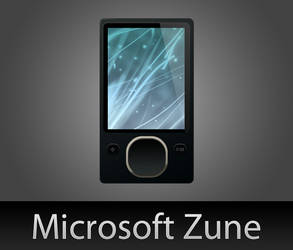 Microsoft Zune with PSD