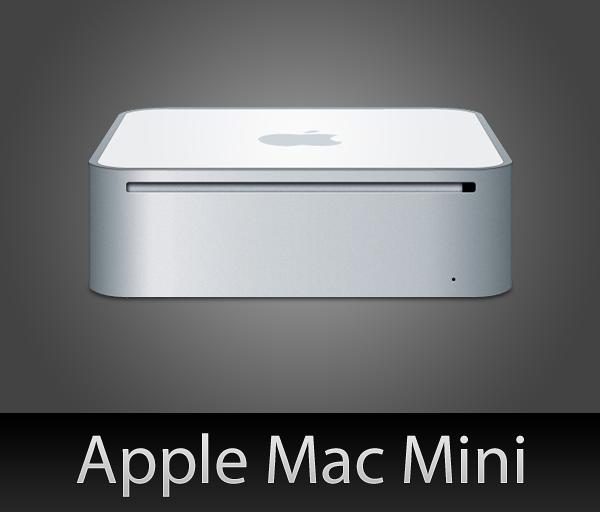 Mac Mini with PSD by wafflez-art