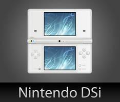 Nintendo DSi with PSD by wafflez-art