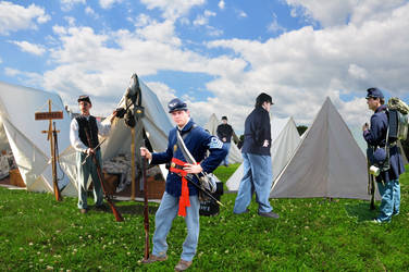 Union Encampment by Legodecalsmaker961