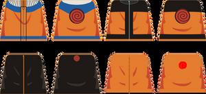 Naruto Uzumaki decals