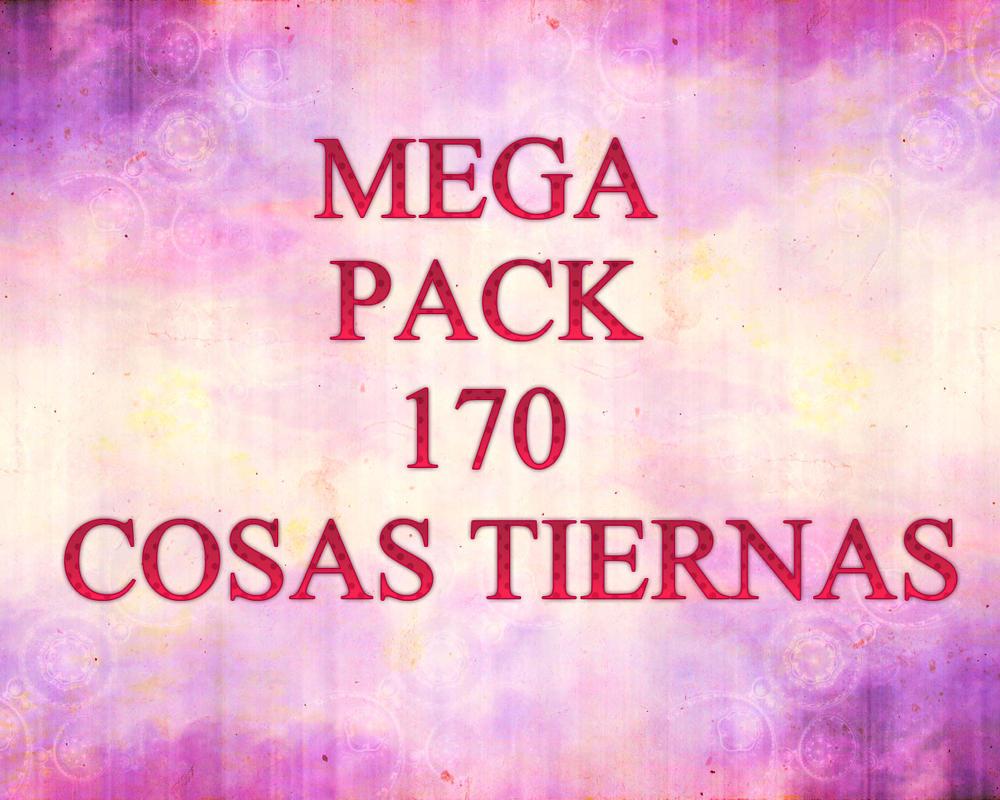 MEGA PACK 170 COSAS TIERNAS! (PNG) by Loretoxy