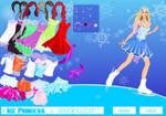 Ice Princess dress up game