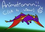 Spyro Flying Animation