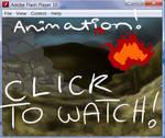 Bushfire animation for art
