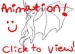 Dragon Flying Animation