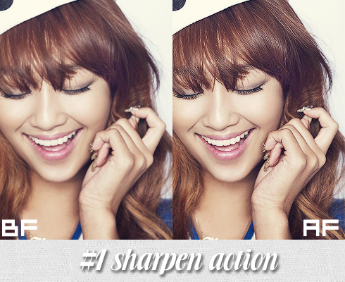#1 Sharpen Action by BHottest