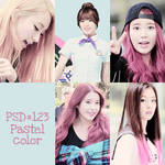 PSD #123 [Pastel color]