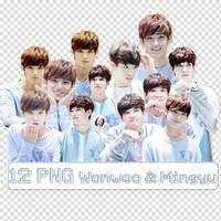 [12 PNG + Photo] Wonwoo  Mingyu