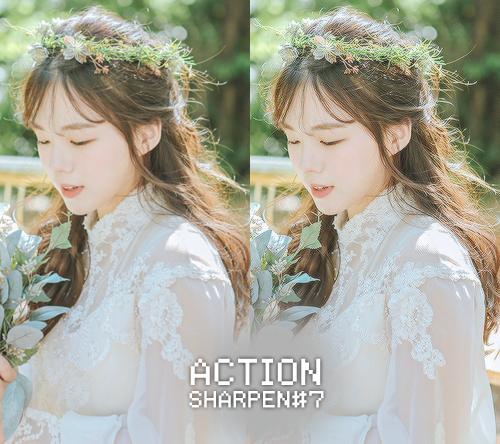 Action Sharpen #7 by BHottest