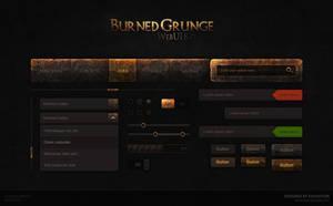 Burned Grunge Web UI KIT by Evil-S