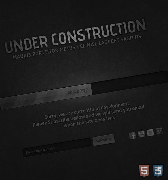 Under Construction Page by Evil-S