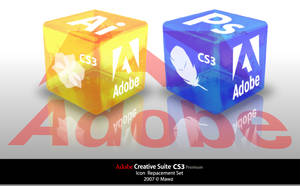CS3 icon set ver 2 preview by Mawz
