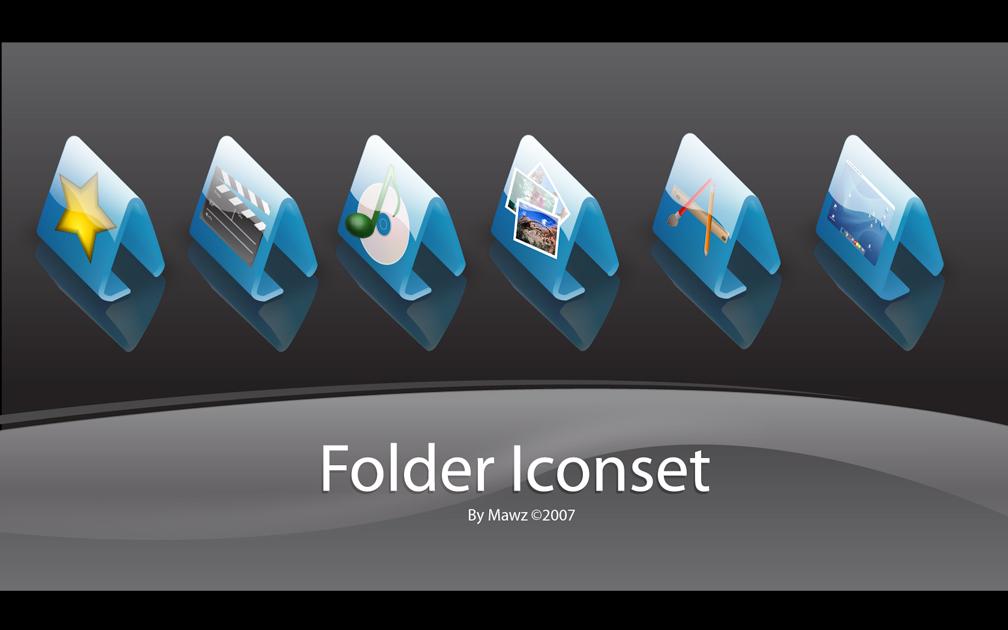 Folder iconset