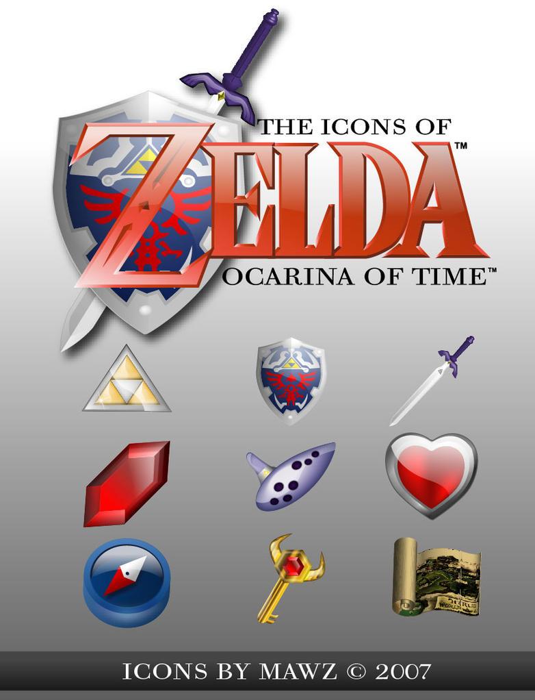 Zelda OoT Iconset by Mawz