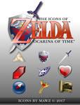 Zelda OoT Iconset