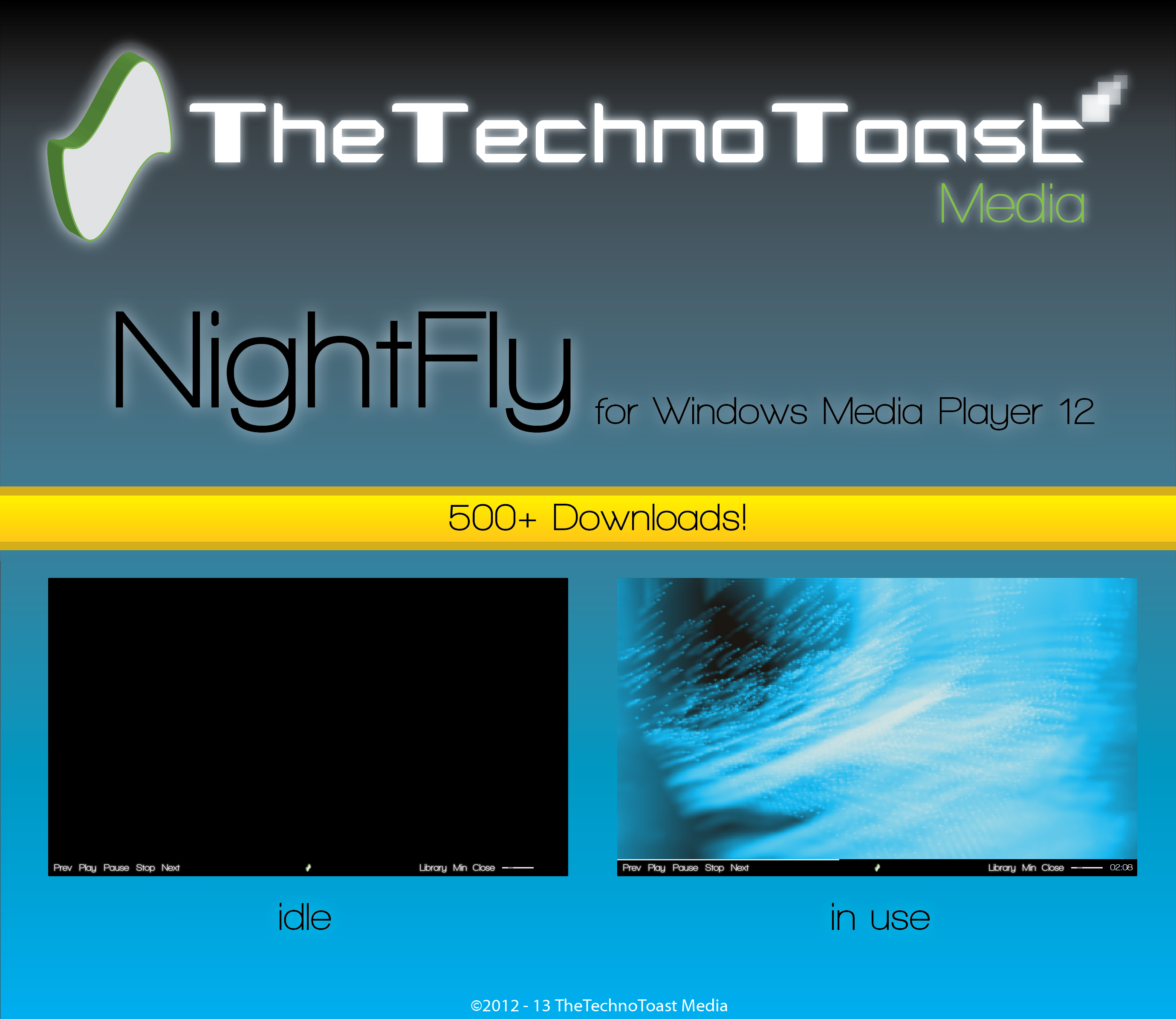 NightFly For Windows Media Player by Tecior