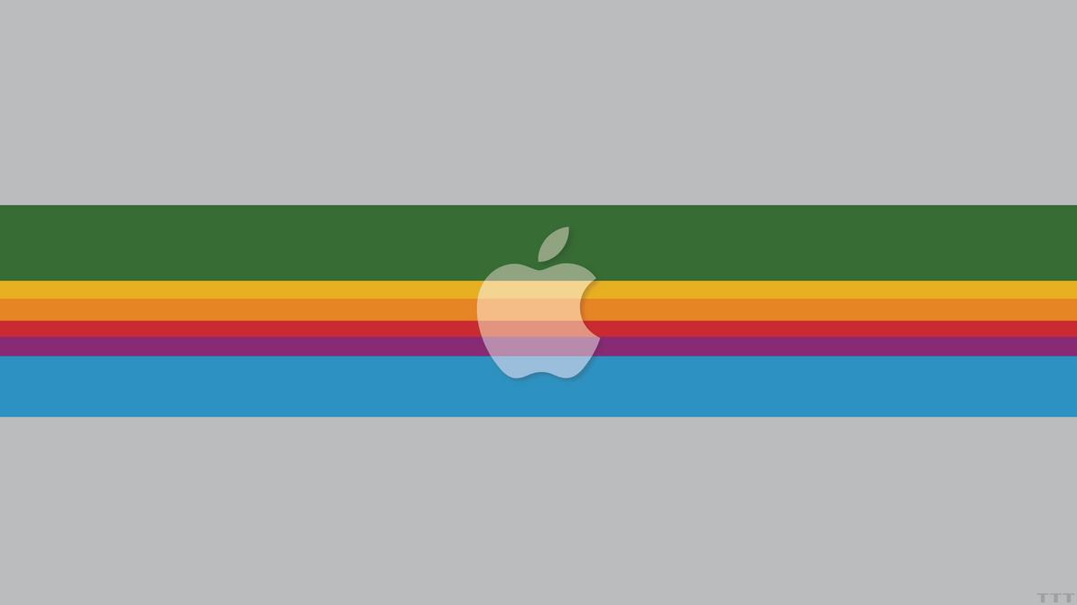 Apple in Retro by Tecior