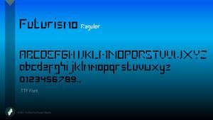Futurismo Font by Tecior