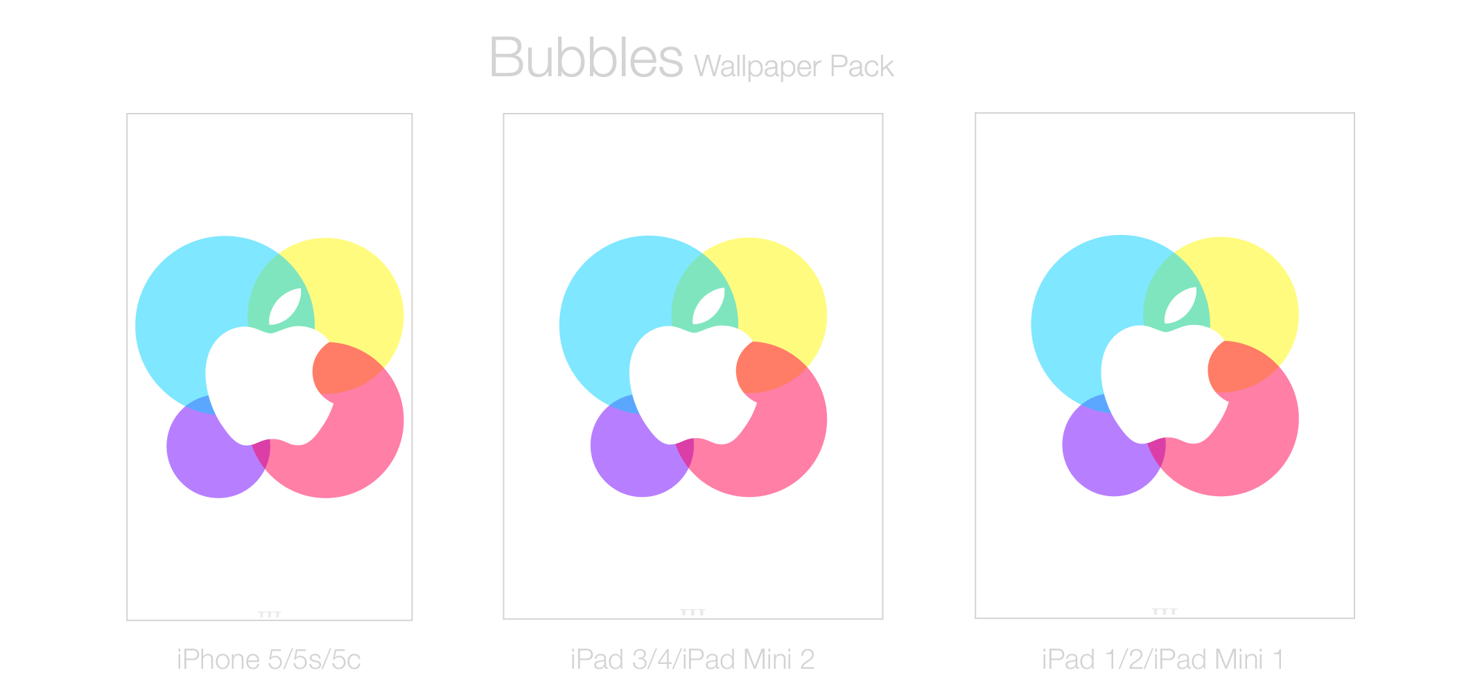 Bubbles Wallpaper Pack by TheTechnoToast