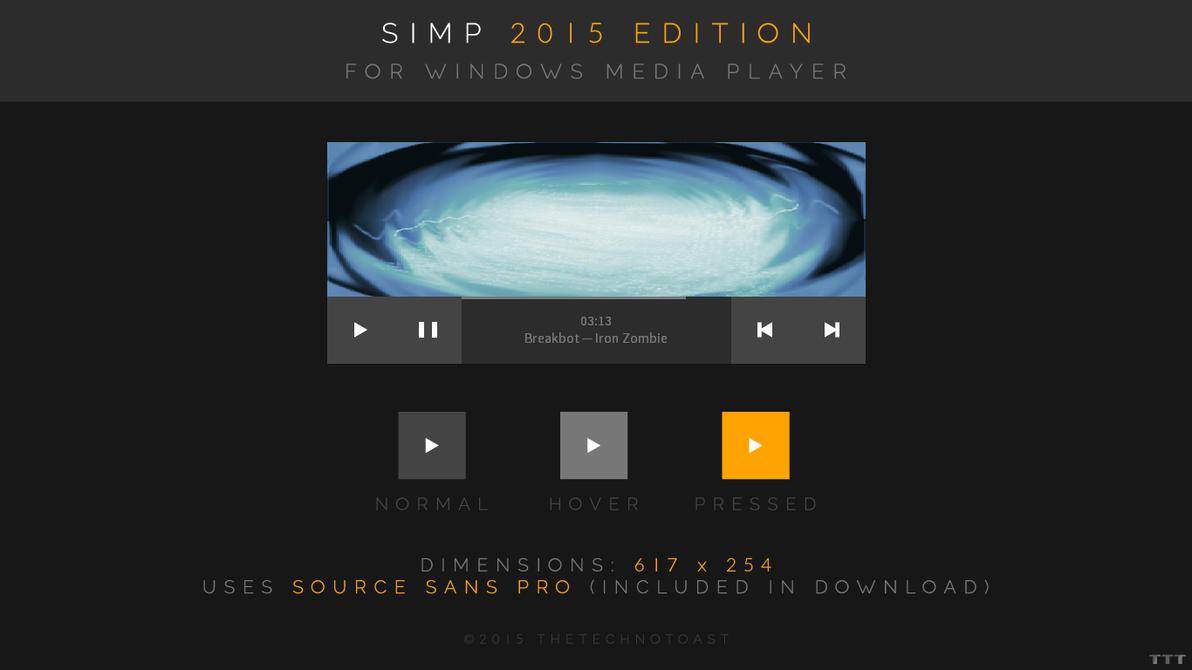 Simp 2015 Edition (For Windows Media Player) by Tecior