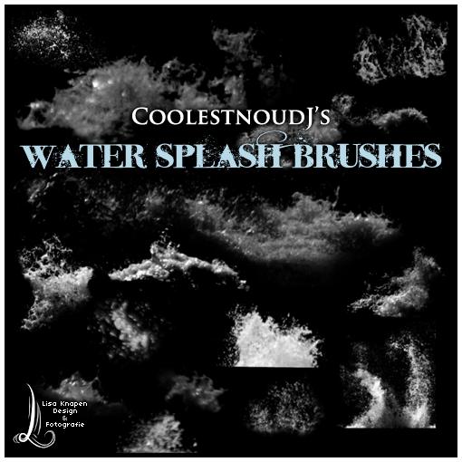 CoolestnoudJ's Splash Brushes by CoolestnoudJ
