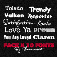 10 Fonts