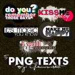 5 .PNG Texts
