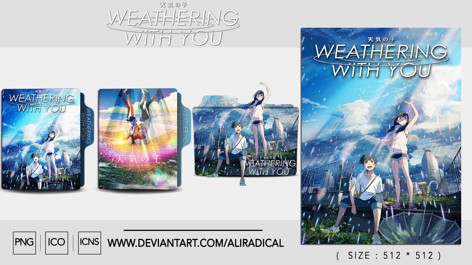 Weathering With You 2019 Folder Icon By Aliradical On Deviantart
