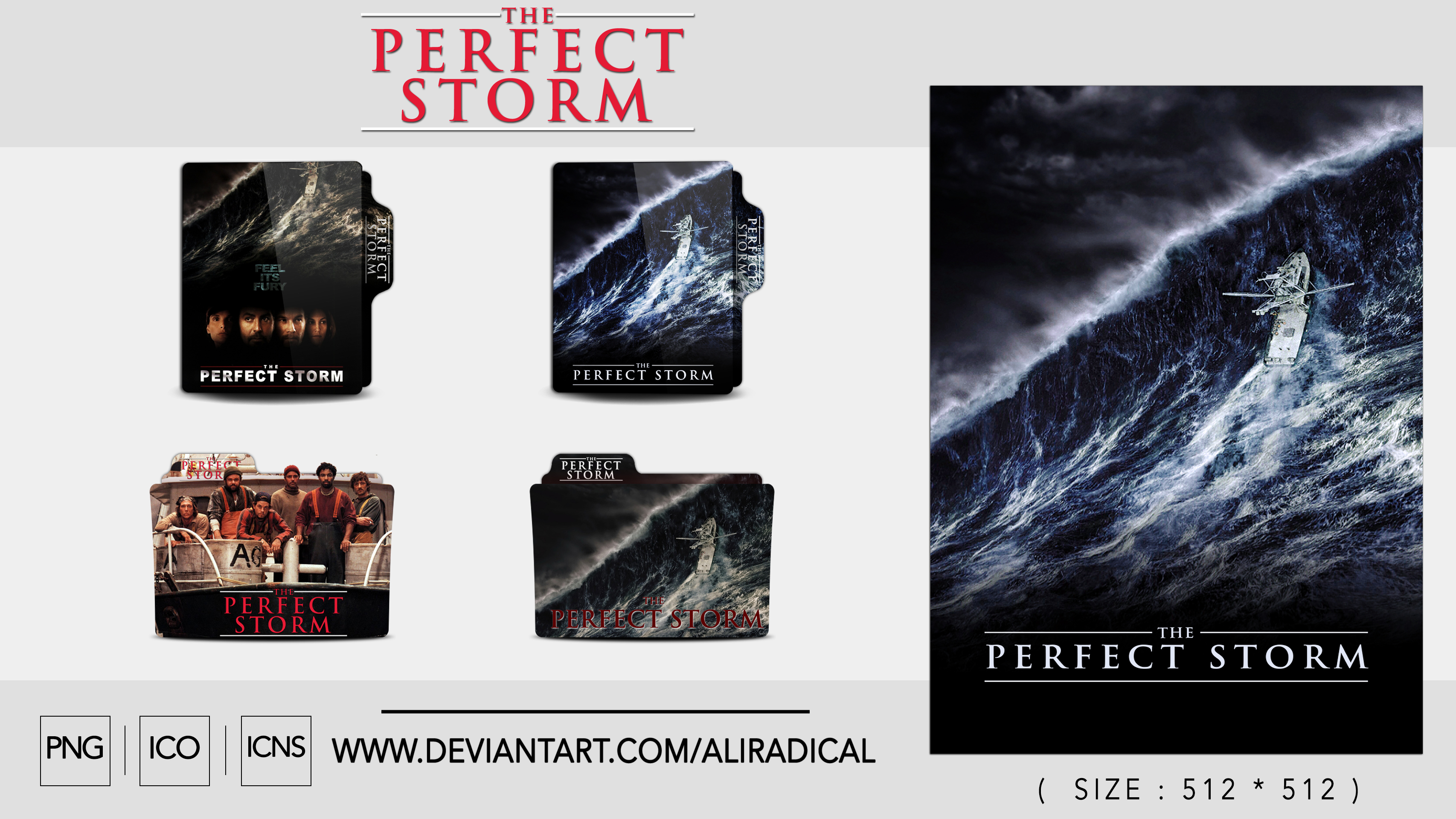 The Perfect Storm 2000 Folder Icon By Aliradical On Deviantart