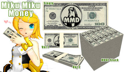 .:MMD- Miku Miku Money:. DL