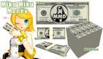 .:MMD- Miku Miku Money:. DL