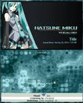 Hatsune Miku Journal CSS