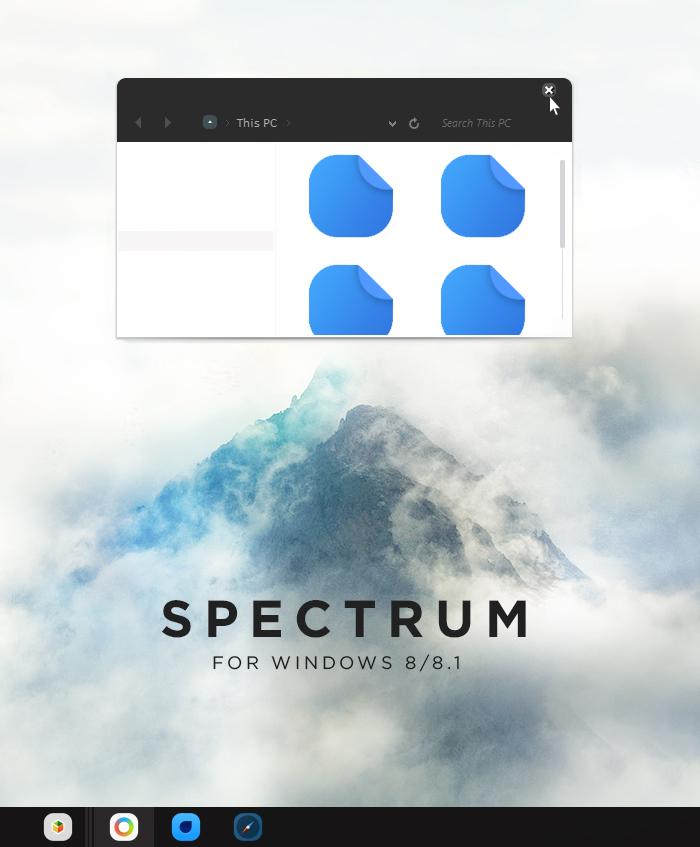 SPECTRUM 8.1 BETA
