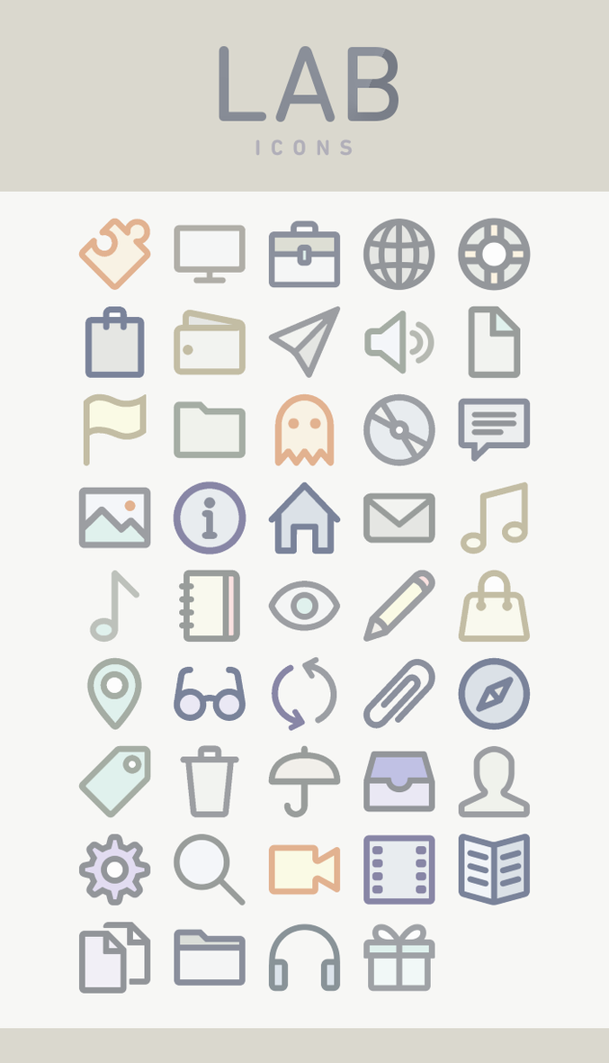 lab icons by participant on deviantart