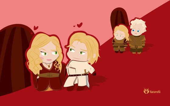 Cersei y Jaime Lannister [Febrero]