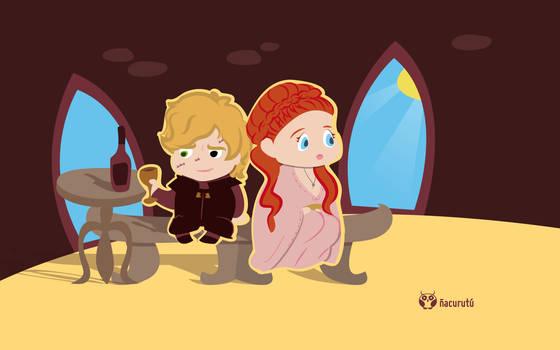 Tyrion y Sansa [Abril]