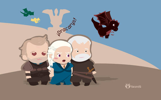 Daenerys, Jorah y Barristan [Mayo]