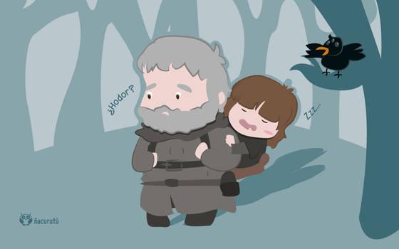 Hodor y Bran [Diciembre]
