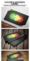 Free Colorful Business Card
