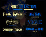 : Nro. 2 - Font Collection.
