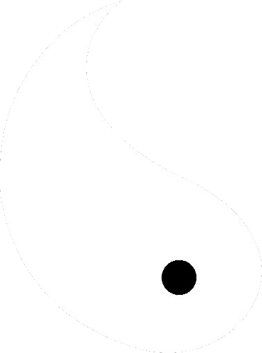 white half of yin yang by bronieblaze on deviantart rh deviantart com Yin Yang Art Cool Yin Yang