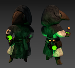 Low Poly - Plague Doctor
