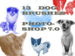 Photoshop 7.0 Dog Brushes