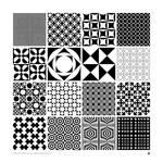 Monochrome Panton Patterns