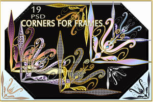 Corners for frames by Mumuza
